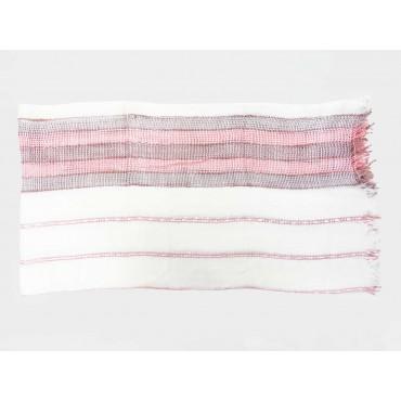 Stesa - Sciarpe primaverili estive - sciarpa foulard donna con righe rosa