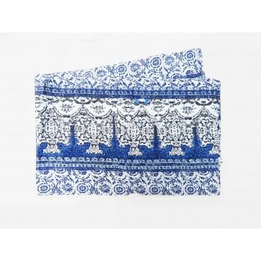 Disegno - Sciarpe primaverili estive - sciarpa pareo stampata con motivi greci