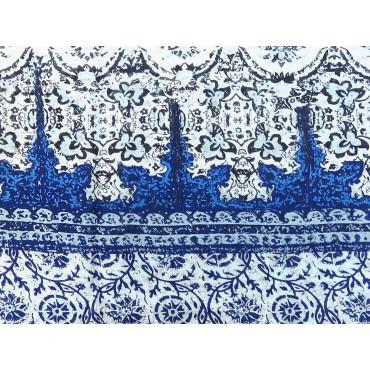 Dettaglio - Sciarpe primaverili estive - sciarpa pareo stampata con motivi greci