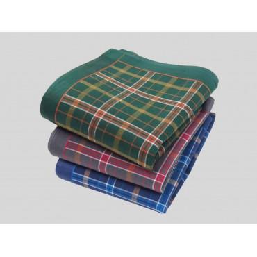 Varianti - Scozia - fazzoletti di cotone scozzesi da uomo con toni caldi