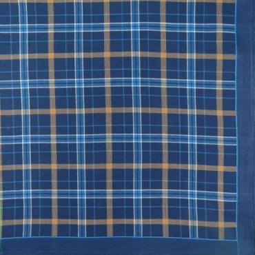 Scozia - Scottish handkerchiefs in warm colors navy
