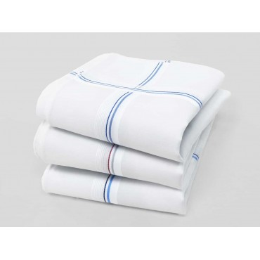 Parigi rigato - handkerchiefs with two-tone stripes and Rolled hem