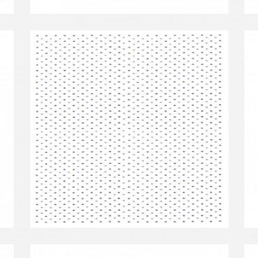 Dettaglio - fazzoletti di cotone da uomo con fantasia astratta e righe di raso