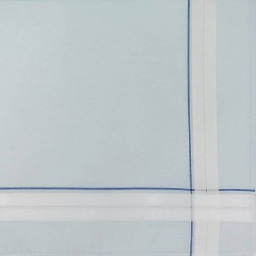 Versailles - handkerchiefs with double stripe and pastel ground light blue