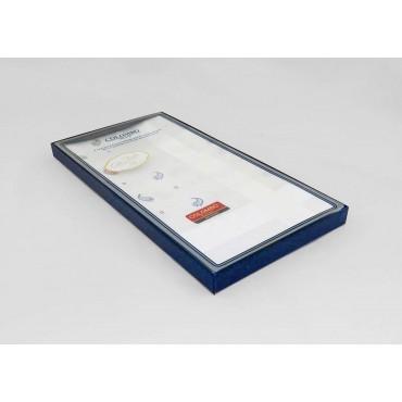 Principe - jacquard ground handkerchiefs cashmere motifs side box