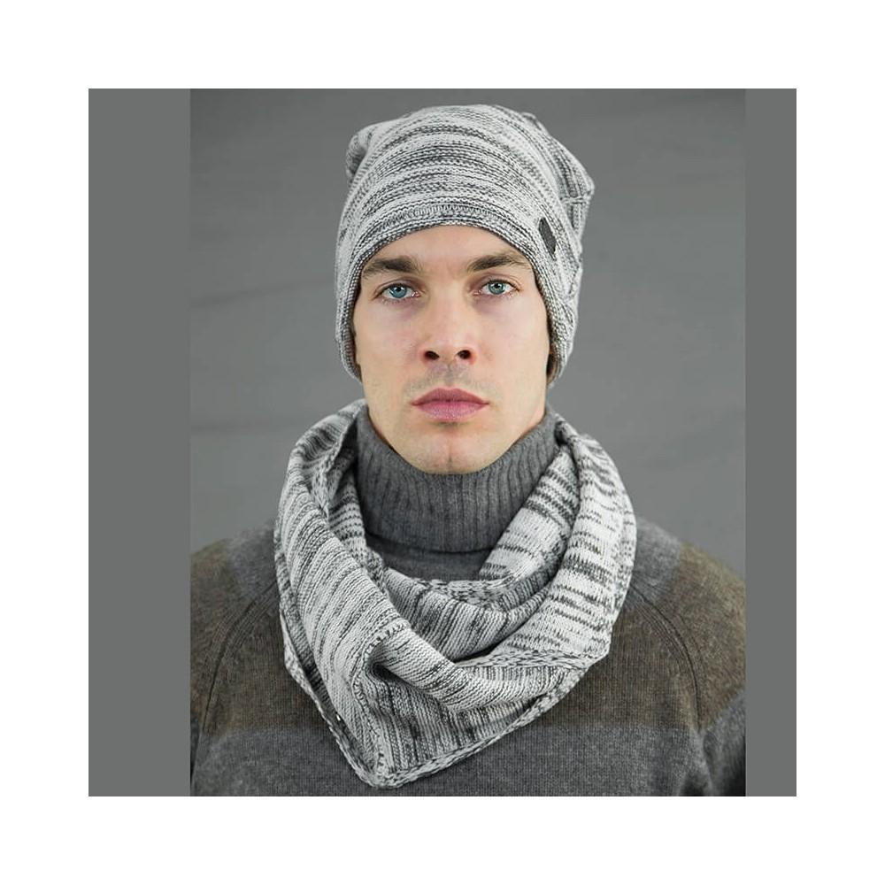 Modello - Cappello da uomo bicolore casual