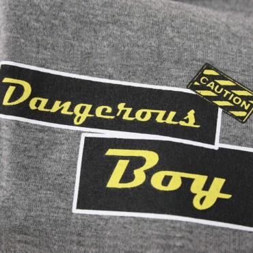 dettaglio - DANGER - cappello bambino ragazzo misto cotone con stampa