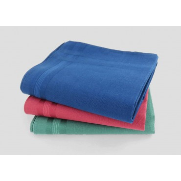 Varianti - Pastello - fazzoletti di cotone da uomo tinta unita con colori forti