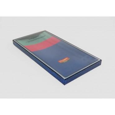 Scatola laterale - Pastello - fazzoletti di cotone da uomo tinta unita con colori forti