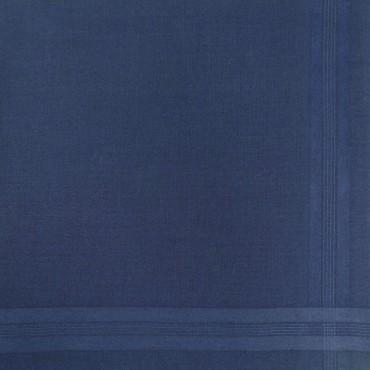 Variante blu - Pastello - fazzoletto di cotone da uomo tinta unita
