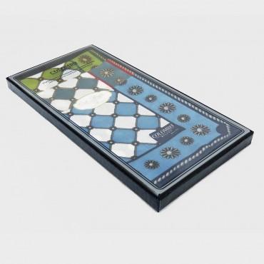 scatola laterale - Planet - fazzoletti di cotone con stampe barocche