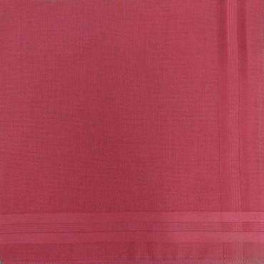Variante rossa - Pastello - fazzoletto di cotone da uomo tinta unita