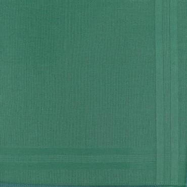 Variante verde - Pastello - fazzoletto di cotone da uomo tinta unita