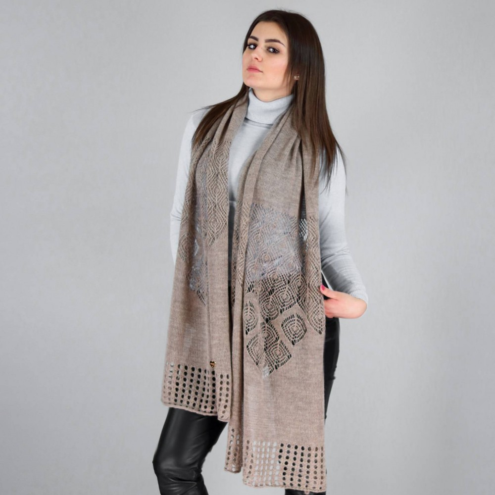 Openwork fantasy stole - Made in Italy