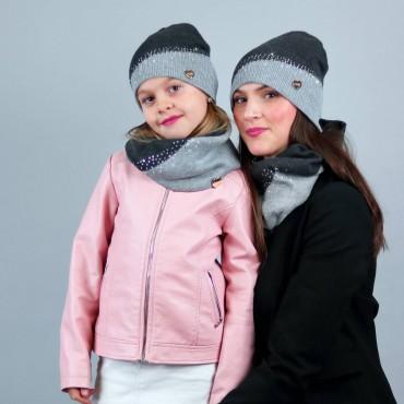 Pack da due completi diagonale strass madre e figlia