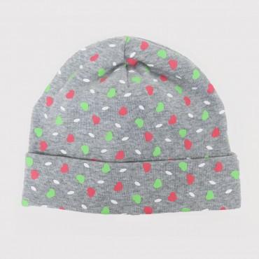 LILLY - cappello in cotone con stampa gommata