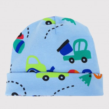BRUM BRUM cappello in cotone con stampa - 0/6M