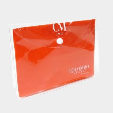 Sciarpa stampa cachemire colorata con pochette in omaggio  pochette