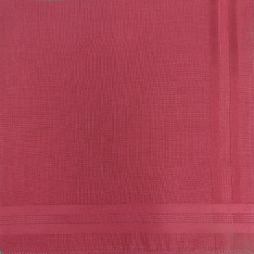 Pastello - solid color handkerchiefs in 3 different dark colors with satin stripes - red detail