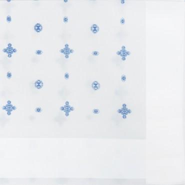 Lord - white handkerchiefs with tie motifs - detail
