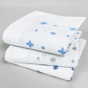 Lord - fazzoletti bianchi con motivi cravatteria - Varianti