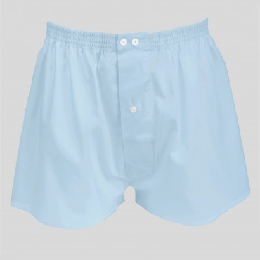 Pack da 4 Boxer bianchi e azzurri - 100%cotone - tg 3(S) fronte azzurri