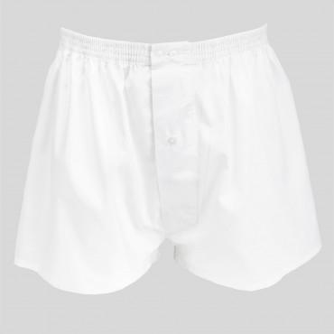 Pack da 4 Boxer bianchi e azzurri - 100%cotone - tg 3(S)fronte bianchi