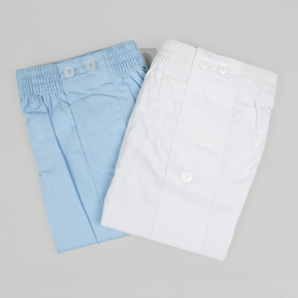Pack 4 Boxer bianchi e azzurri - 100%cotone - tg 3(S)