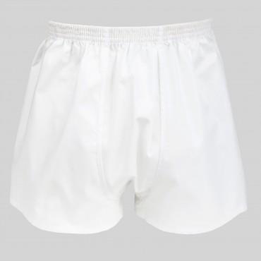 Pack da 4 Boxer bianchi e azzurri - 100%cotone - tg 3(S) retro bianco