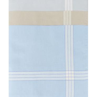 Versailles colorato - fazzoletti pastello con righe di raso jacquard disegno 33