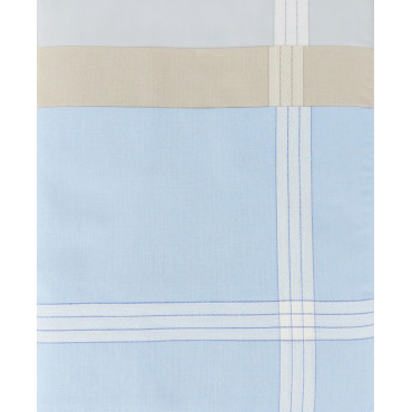 Versailles colorato - pastel handkerchiefs with jacquard satin stripes design
