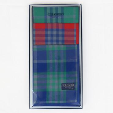 Scozia - fazzoletti tartan scatola