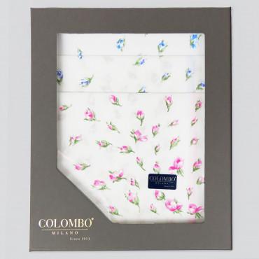 Grazia dozzina- 12 fazzoletti con pioggia di fiorellini scatola