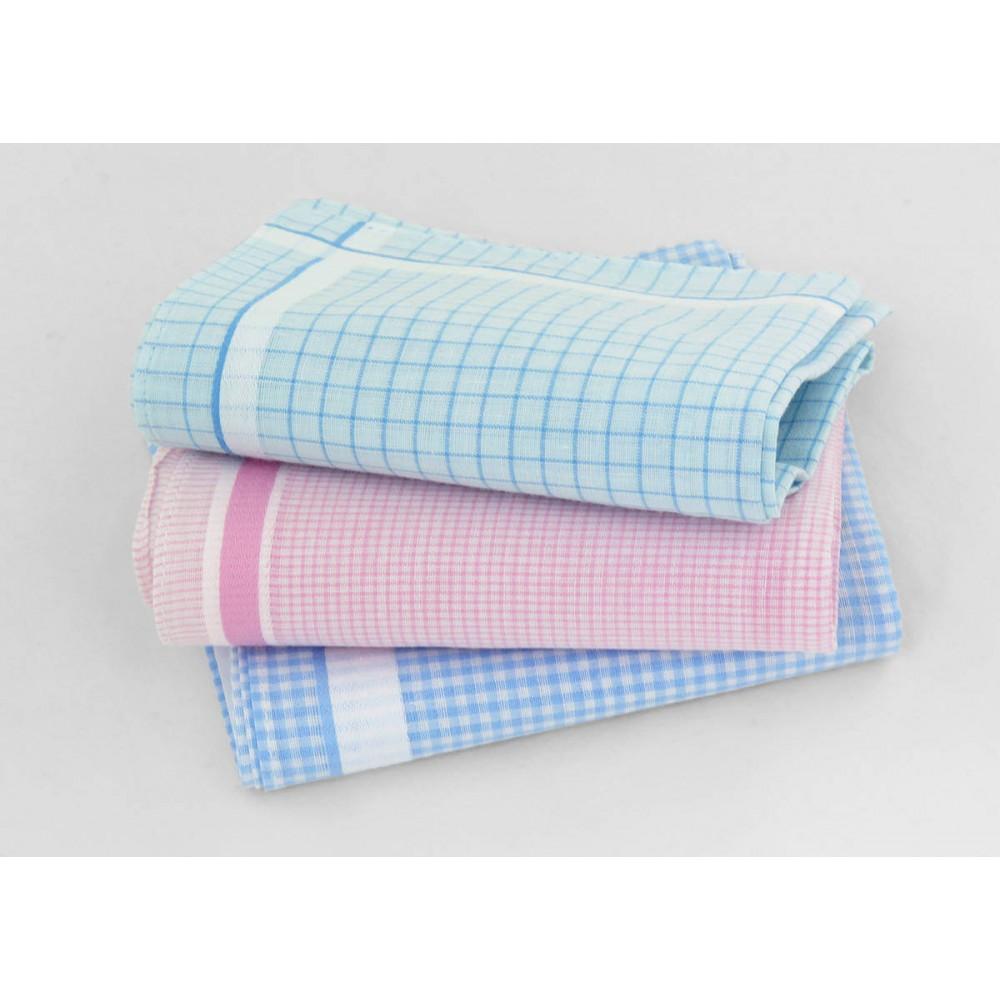 Varianti - Roby - fazzoletti di cotone a quadretti in colori pastello