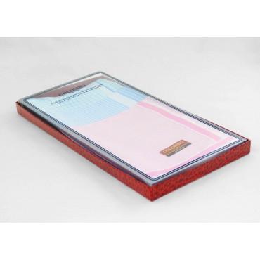 Scatola laterale - Roby - fazzoletti di cotone a quadretti in colori pastello