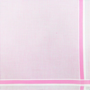 Variante rosa - Roby - fazzoletto di cotone a quadretti rosa pastello