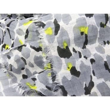 Dettaglio - Sciarpe primaverili estive - sciarpa foulard in cotone maculata