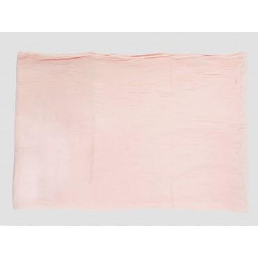 Piegata - Sciarpe primaverili estive - sciarpa pareo di cotone rosa cipria