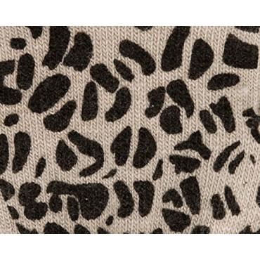 Dettaglio - guanti donna magici - guanti elasticizzati touchscreen con stampa leopardata