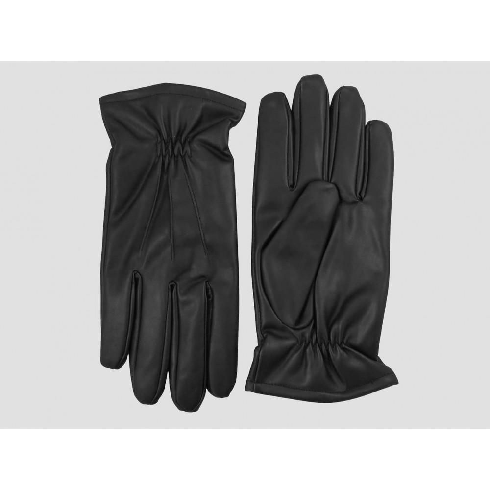 Modello - guanti uomo - guanti classici ed eleganti in ecopelle