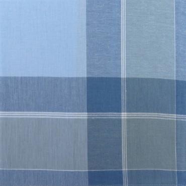 Variante azzurra - Dark - fazzoletto di cotone da uomo scuro
