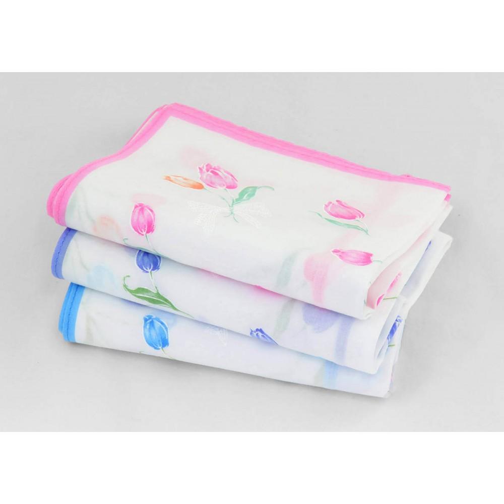 Colorways - Grazia - handkerchiefs with tulips
