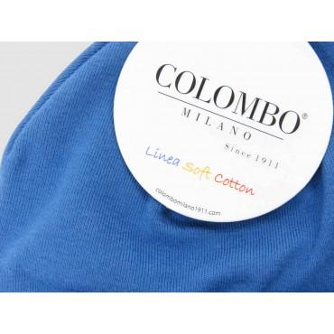 Dettaglio - cappello bimbo - berretto denim di cotone elasticizzato