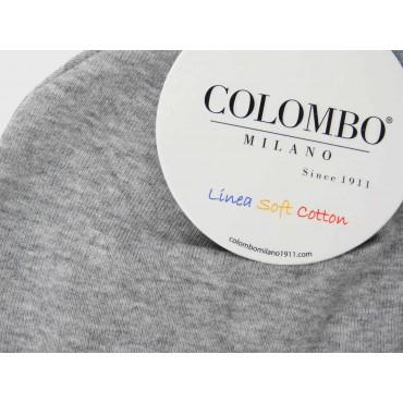 Dettaglio - cappello bimbi - berretto grigio di cotone elasticizzato