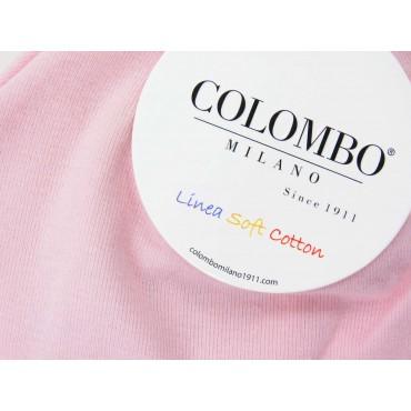 Dettaglio - cappello bimba - berretto rosa di cotone elasticizzato