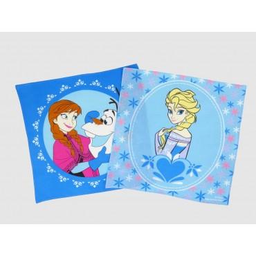 Varianti - Frozen - fazzoletti di cotone Disney con Anna, Elsa e Olaf