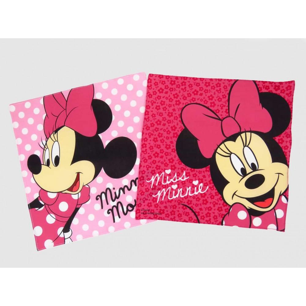 Variations - Minnie - pink Disney cotton handkerchiefs