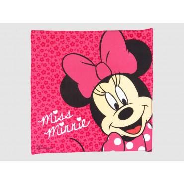 Fuchsia - Minnie - Disney cotton handkerchief