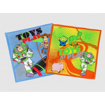 Variations - Toy Story - Disney cotton handkerchiefs with Buzz and Woody