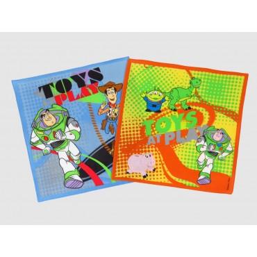 Varianti - Toy Story - fazzoletti di cotone Disney con Buzz e Woody